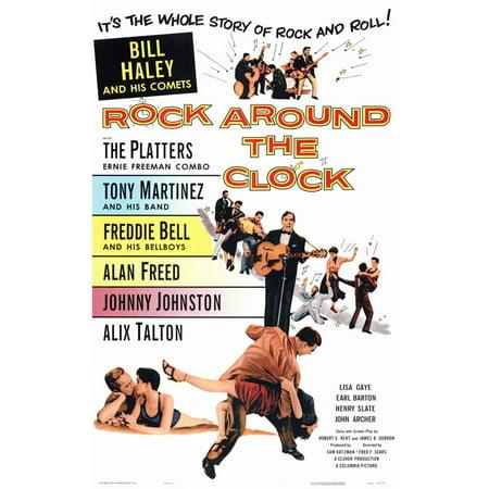 Rock Around the Clock (1956) 11x17 Movie Poster