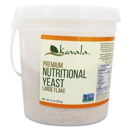 Kevala - Premium Nutritional Yeast Large Flake - 2 lbs. Gold Premium Yeast