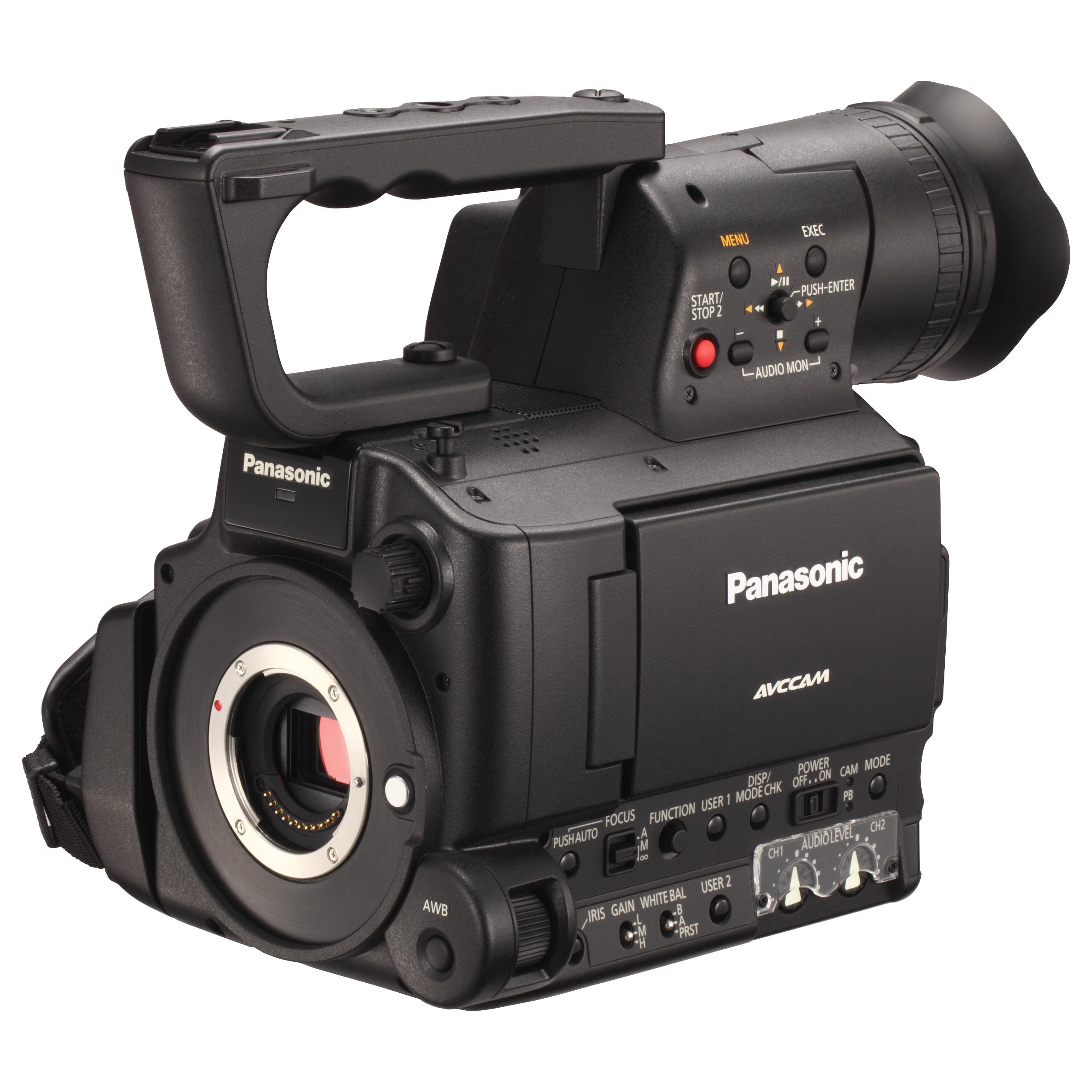 Panasonic AG-AF100/102 Professional Memory Card Camcorder