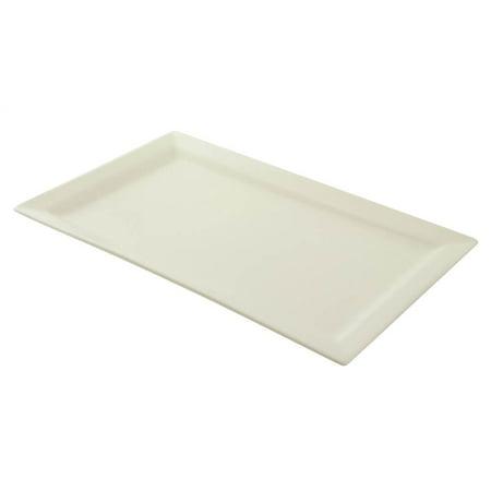 10 Strawberry Street White Whittier 17 11  Rectangle Platter