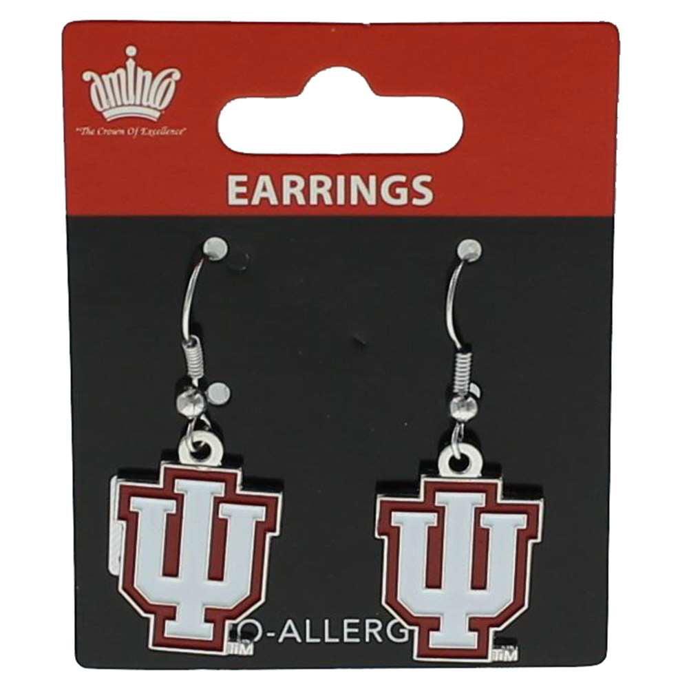 Indiana Hoosiers Dangler Earrings