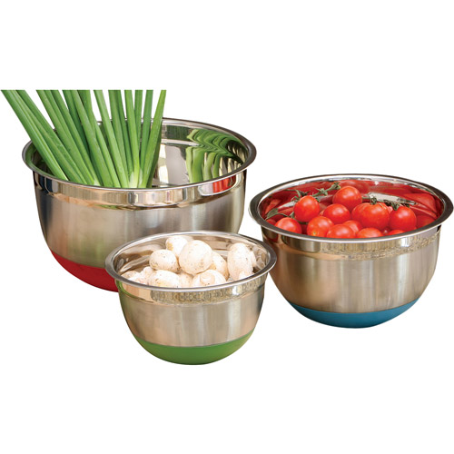 Cook Pro 3-Piece Mixing Bowl Set