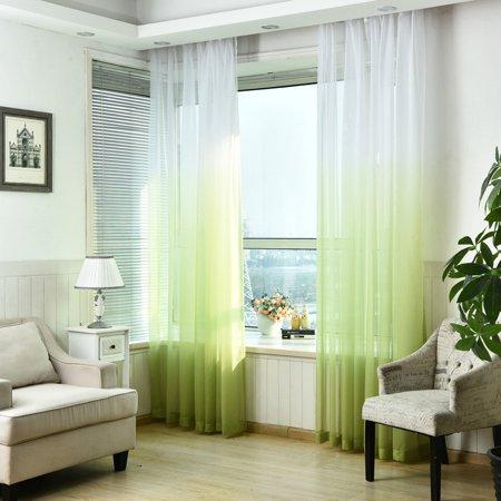Valances Tulle Voile Door Window beauty Curtain Drape Panel Sheer Scarf Divider Dec - Door Dec Ideas