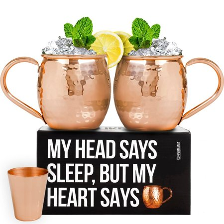 100 Copper Moscow Mule Mugs Set 16 Oz Heavy Weight