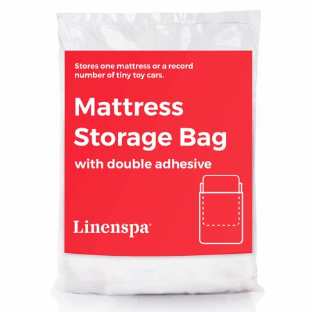 Linenspa Mattress Storage Bag with Double Adhesive Closure - Queen Size