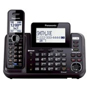 Panasonic Link2Cell 2-Line Cordless Phone, 1 Handset