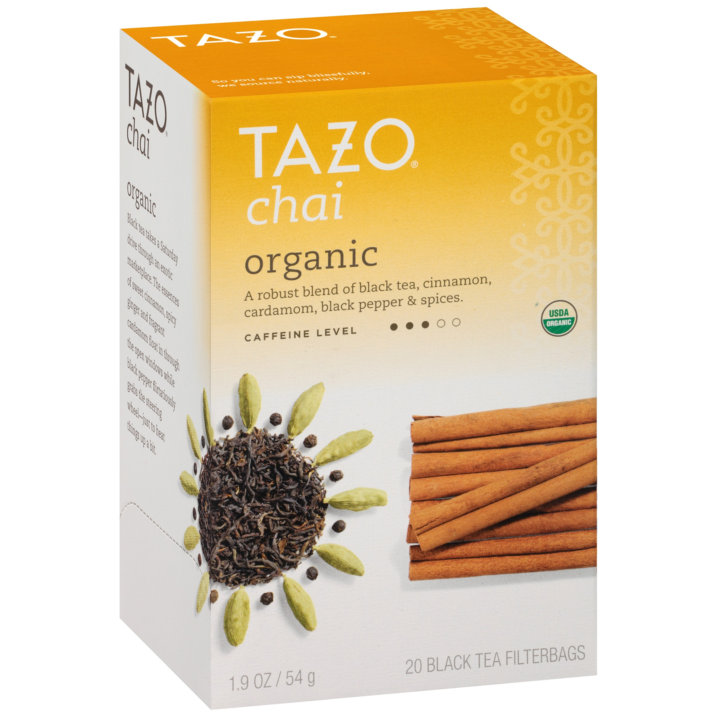 Tazo® Organic Chai Tea 20 ct Box