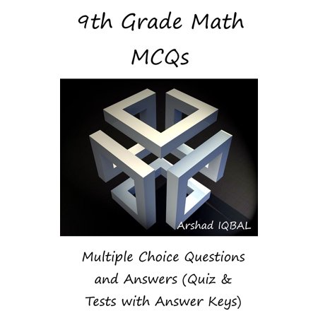 9th Grade Math MCQs: Multiple Choice Questions and Answers (Quiz & Tests with Answer Keys) -