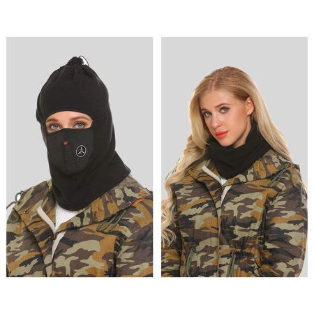 Kingbay Full Face Full Cover Balaclava Ski Mask and Neck Warmer for Motorcycle Cycling WCYE
