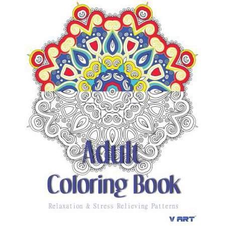 Adult Coloring Book Coloring Books For Adults Relaxation