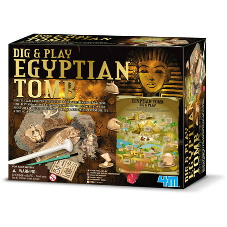 4M Dig and Play Egyptian Tomb Science Kit