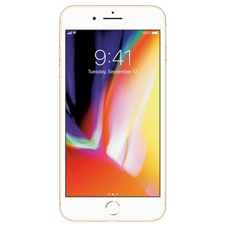 Refurbished Apple iPhone 8 Plus 64GB, Gold - Unlocked GSM/CDMA
