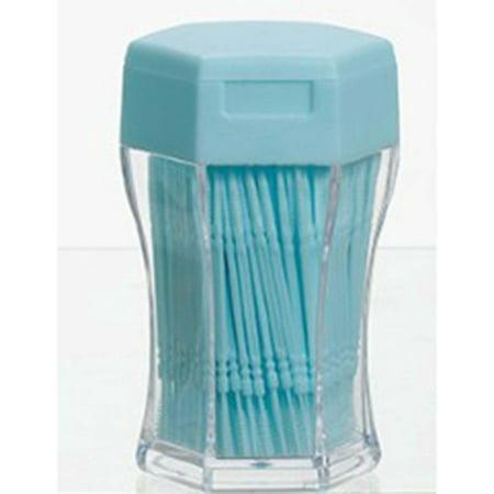 200PCS/SET Double Head Tooth Floss Dental Floss Plastic Interdental Toothpick - image 1 of 5