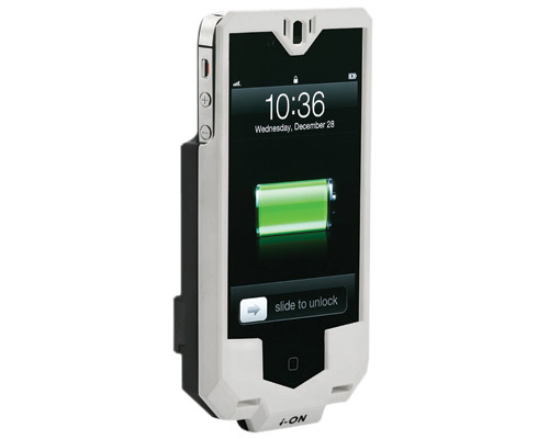 i-ON iB-8W BEE iPhone 4 White Extended Battery Case