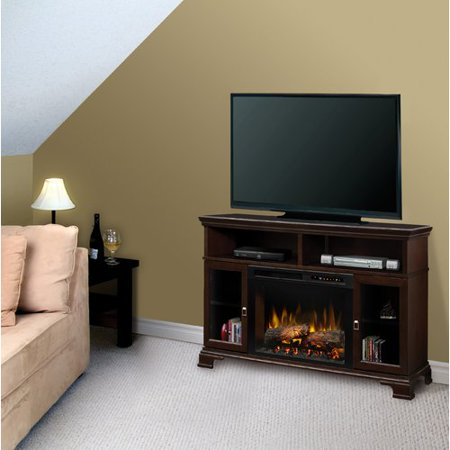 Dimplex Brookings TV Stand with Electric Fireplace
