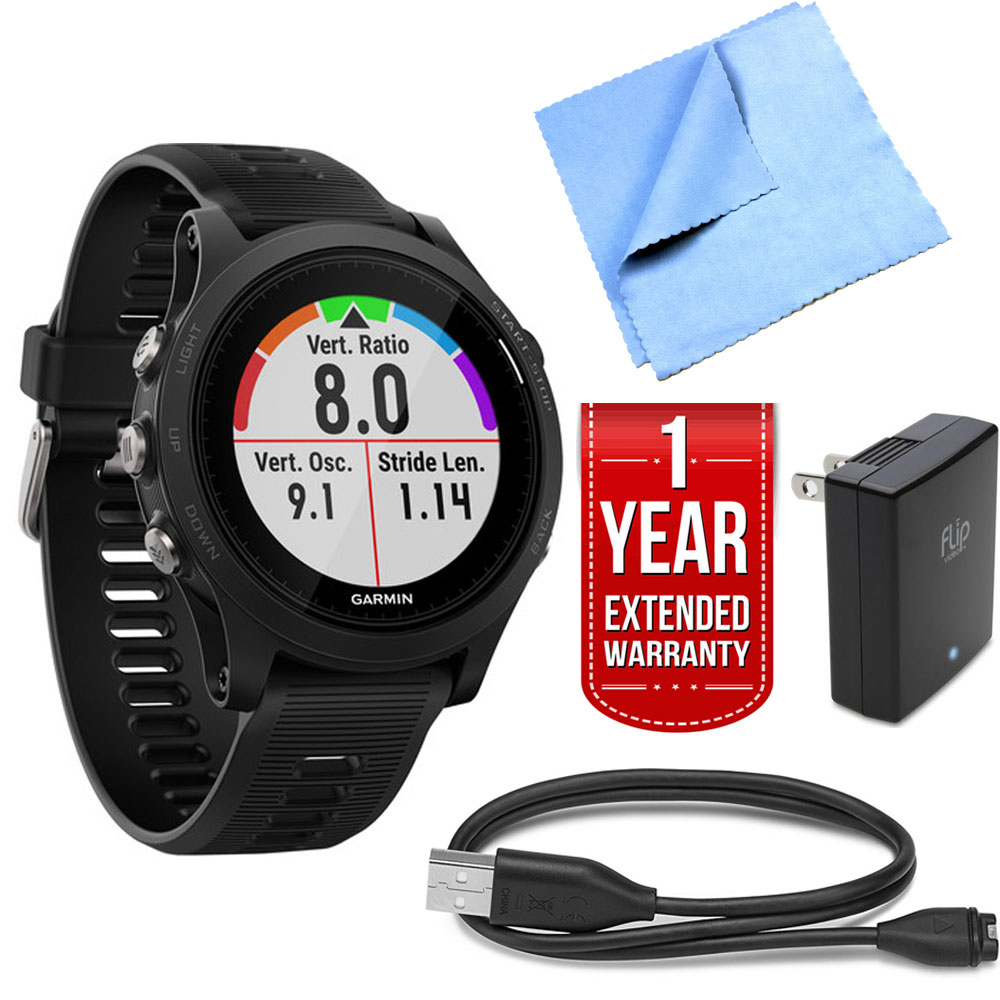 Garmin Forerunner 935 Sport Watch (Black) w/ Charger + 1 ...