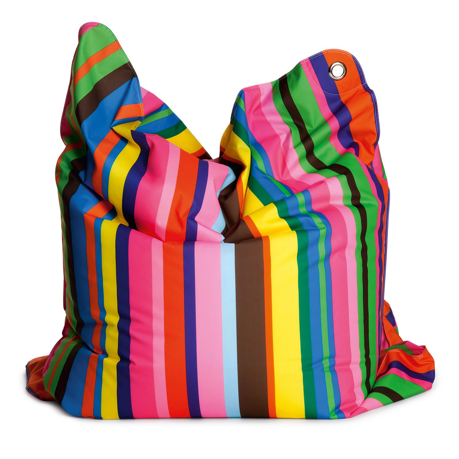 THE BULL Large Fashion Bean Bag Chair - Fashion Candy Stripe