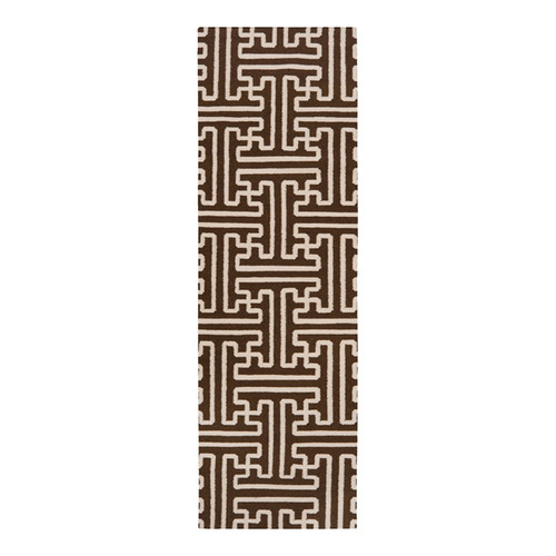Smithsonian Rugs Archive Brown/Ivory Area Rug