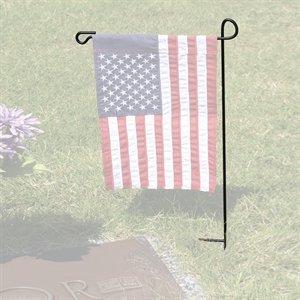Evergreen Flag U0026 Garden 9901028 Cemetery Garden Metal Flag Pole, 28 Inch,  Made