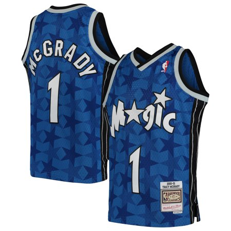 Tracy McGrady Orlando Magic Mitchell & Ness Youth Swingman Throwback Jersey - Blue