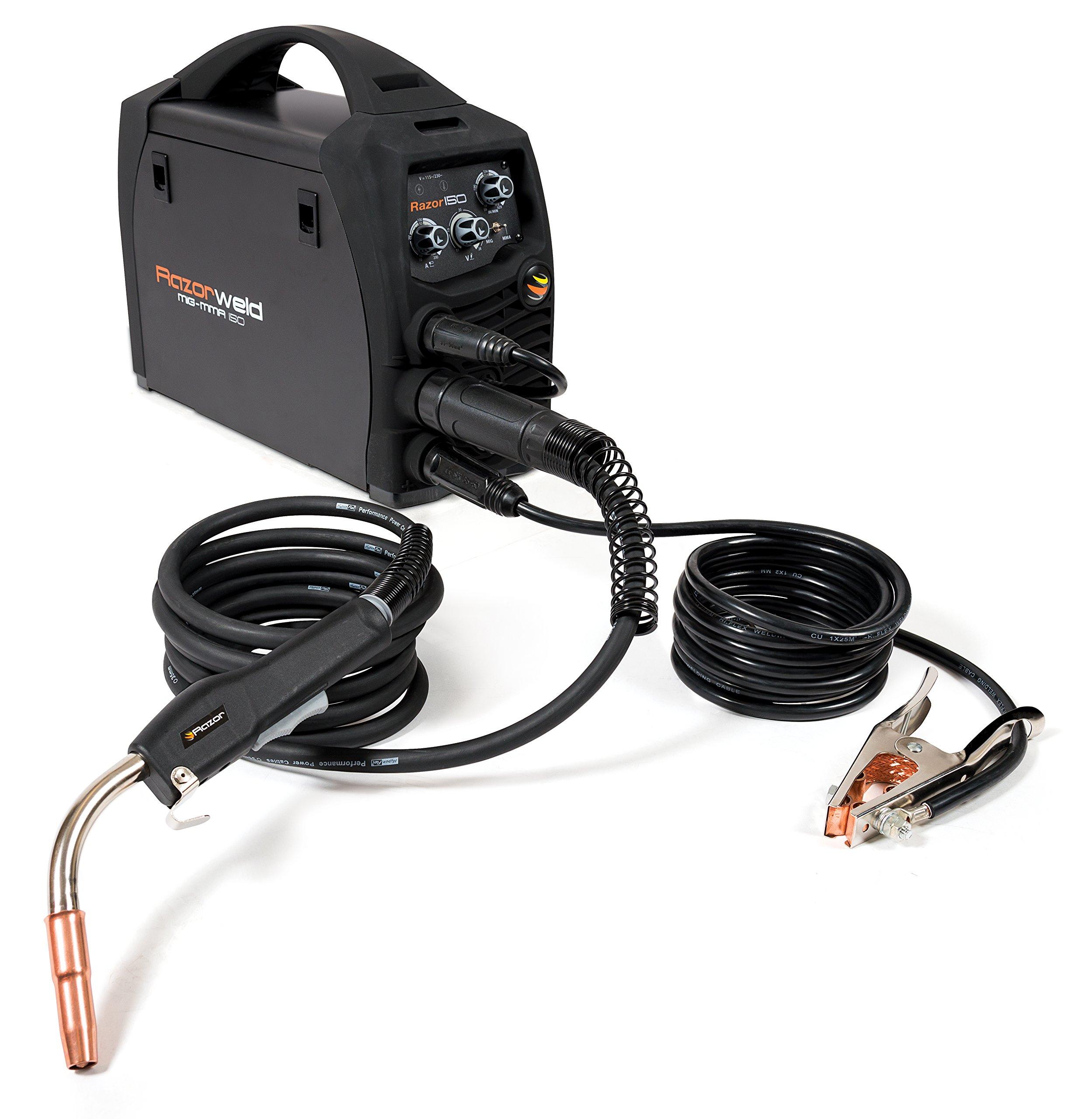 Titan PLKUMJRRW150 150 Amp Dual Volt Multi-system Welder