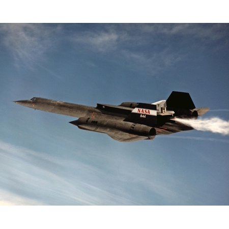 LAMINATED POSTER Sr 71 Reconnaissance Supersonic Jet Aircraft Poster Print 24 x
