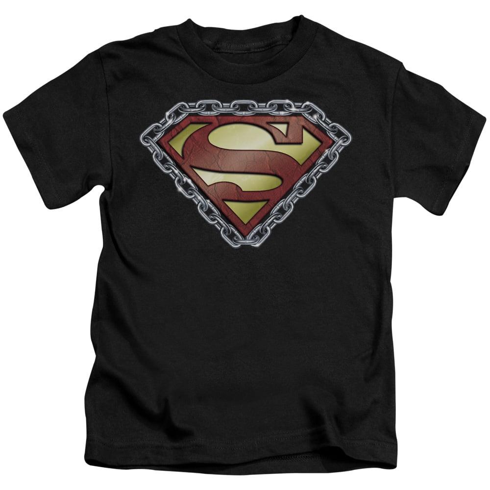 Superman/Chained Shield   S/S Juvenile 18/1   Black    Sm762