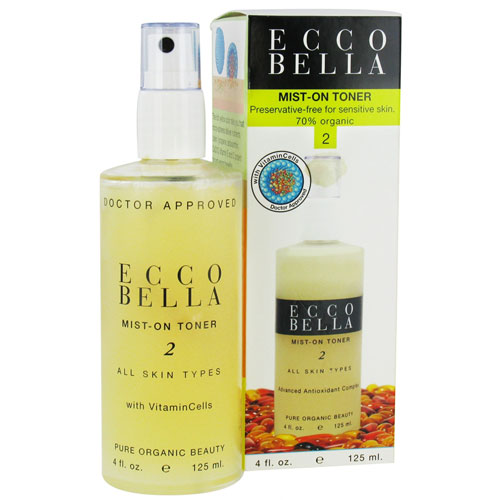 Ecco Bella Mist On Toner With Vitamincells To All Skin Types - 4 Oz