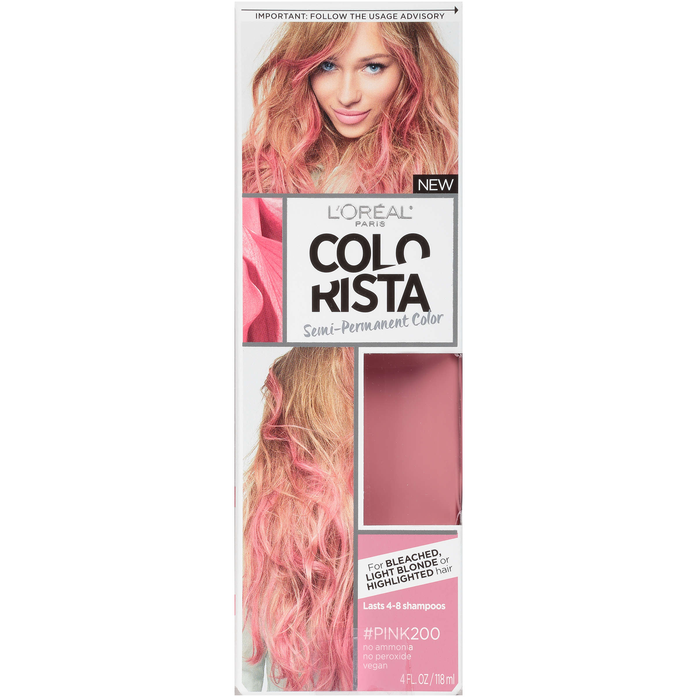 L'Oreal Paris Colorista Semi-Permanent for Light Blonde or Bleached Hair