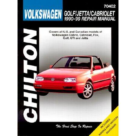 Volkswagen Golf, Jetta, and Cabriolet, 1990-98