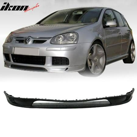 VW Golf 5 MK5 Rabbit 06-09 Type-A Urethane Front Bumper Lip Spoiler Body Kit