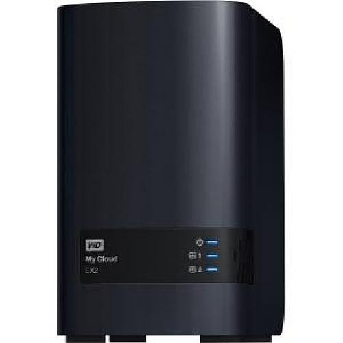 Western Digital WDBVKW0060JCH-NESN My Cloud EX2 Personal Cloud Storage