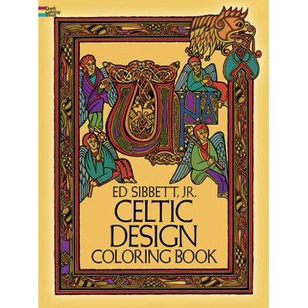 Celtic Design Coloring Book for $<!---->