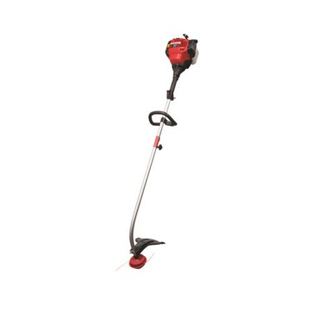 Troy-Bilt TB635EC Gas String Trimmer, Curved Shaft, 30cc 4-Cycle Engine,  17-In