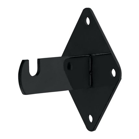 Wall Brackets for Gridwall or Grid Panels - Black (15 Pack)