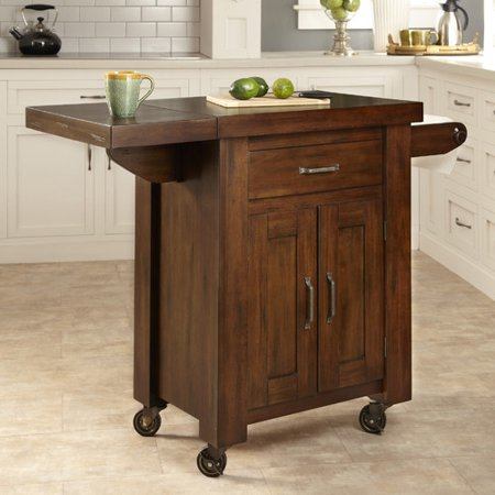 cabin creek kitchen cart w side drop leaf. Black Bedroom Furniture Sets. Home Design Ideas