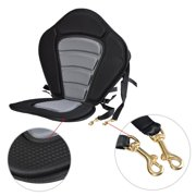 Dailydeal Kayaking Seat,Adjustable Fishing Kayaking Canoeing Padded Seat with Backrest & Detachable Seat Bag DADEA by