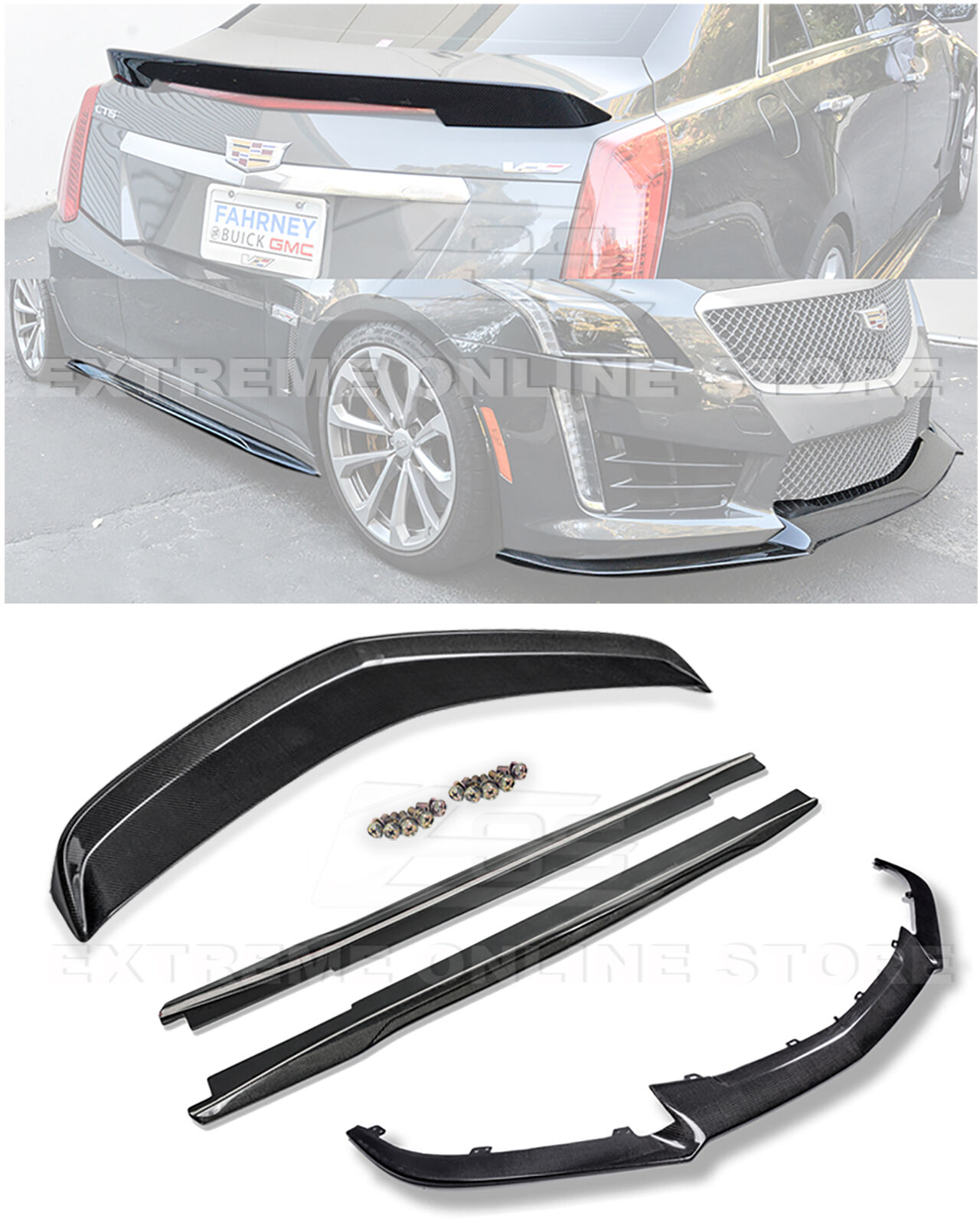 2016 Cadillac Cts V Rocker Panels: Replacement For 2016-Present Cadillac CTS-V