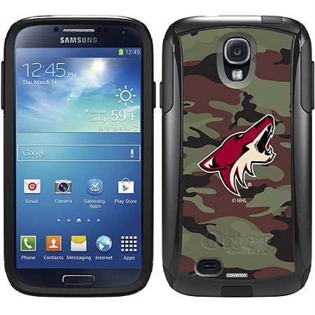 Phoenix Coyotes Traditional Camo Design on OtterBox Commuter Series Case for Samsung Galaxy S4 by