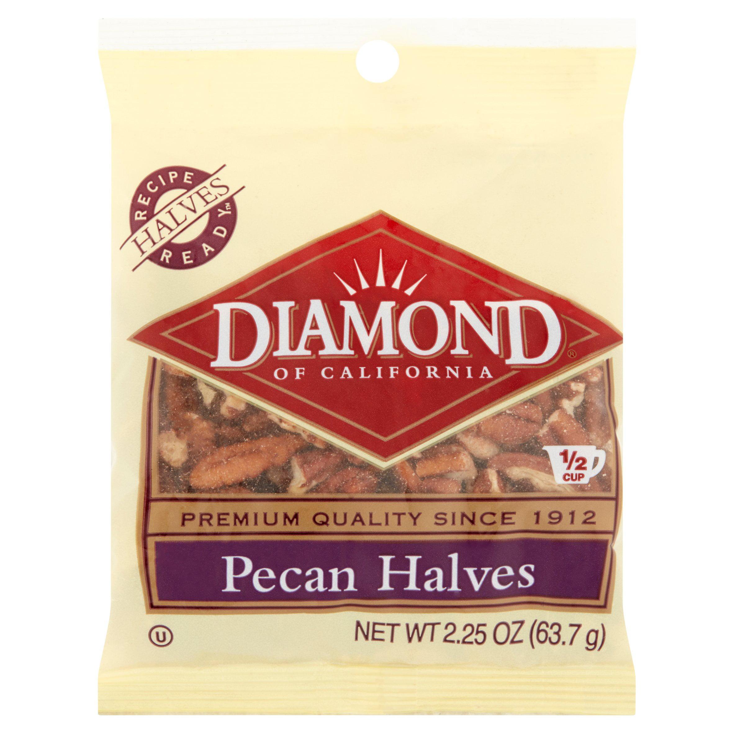 Diamond Of California Pecan Halves, 2.25 OZ by Diamond Foods, Inc.