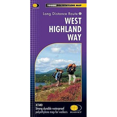West Highland Way XT40 (Route Map) (Map) - Halloween Parade Route Map