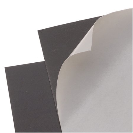Craft Hobby Rubber Peel & Stick Magnet Sheet Rectangle 4x6 Inches (2 - Water Rectangle Magnet