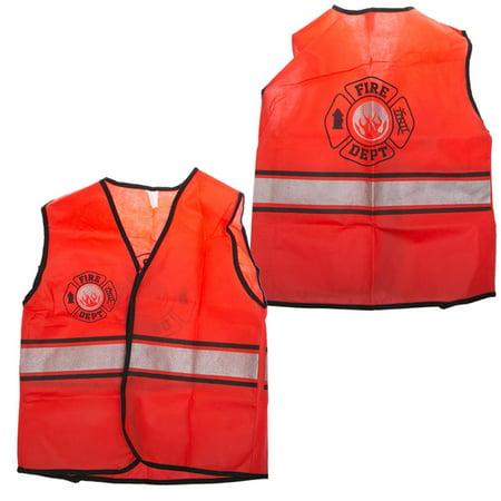 Life Size Costumes (Children's Firefighter Vest)