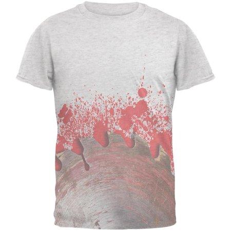 Halloween Bloody Saw Blade Massacre Mens T Shirt - Halloween Massacre Toronto