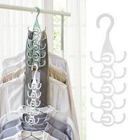 OTVIAP Scarves Hanger,Clothing Hanger Rack Closet Organizer for Ties Belts,Tie Hanger