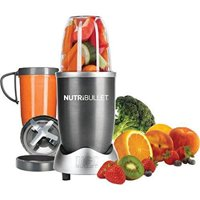 NutriBullet Silver Magic Bullet Superfood Nutrition Extractor, 8 Piece