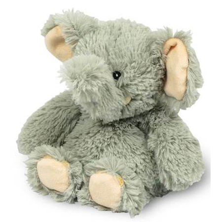 - ELEPHANT JUNIOR WARMIES Cozy Plush Heatable Lavender Scented Stuffed Animal