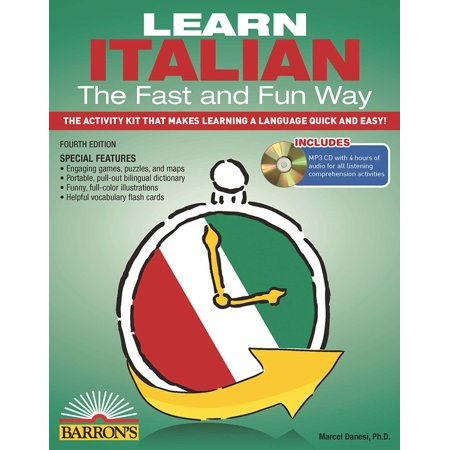Learn Italian the Fast and Fun (Part Learning Cd)