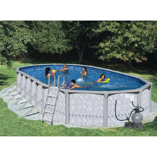 "Heritage Oval 30' x 15' x 52"" Above Ground Swimming Pool"