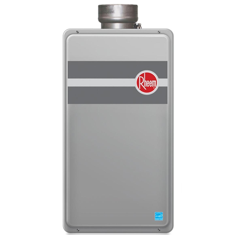 RHEEM Water Heater,Tankless,Nat,11K-199K BTU RTG-95DVLN-1